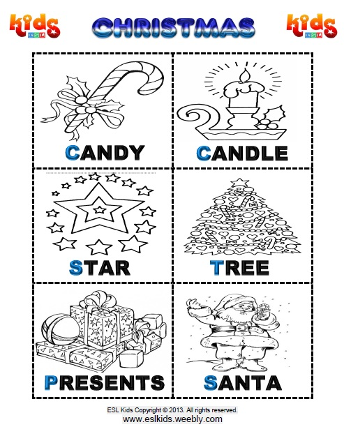 Christmas Activities Games And Worksheets For Kids