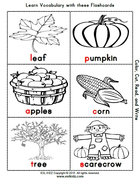 Fall Worksheets For Kindergarten : Fall activities games and worksheets for kids