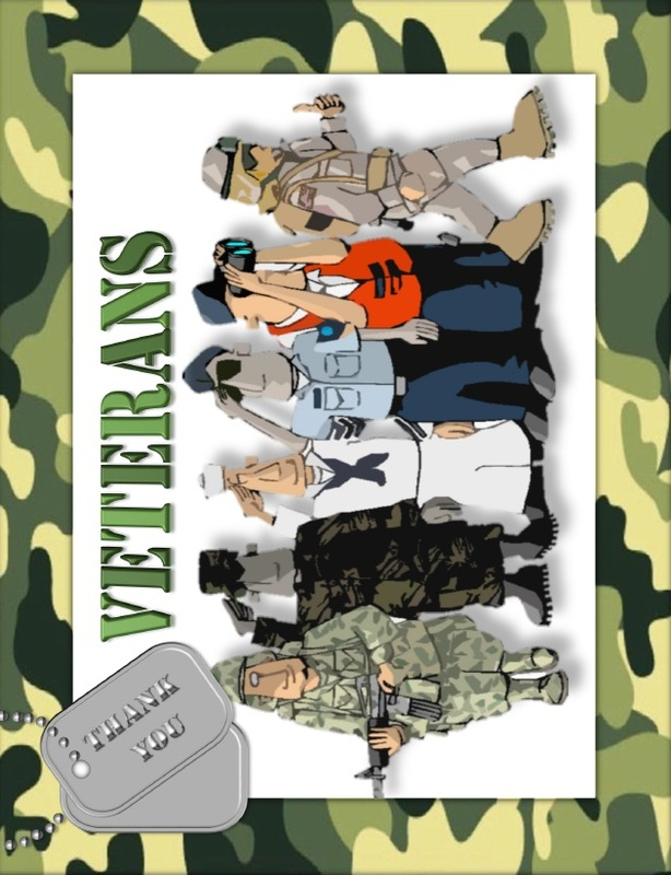 Veterans Day - Activities, Games, and Worksheets for kids