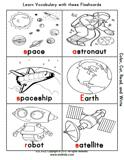 Common Worksheets » Space Worksheets For Kindergarten ...
