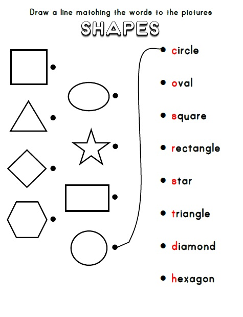 Shapes - Activities, Games, and Worksheets for kids