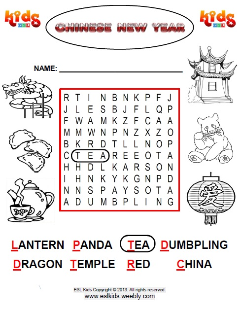 Lunar New Year Activities Games And Worksheets For Kids