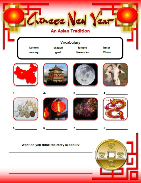 lunar new year activities games and worksheets for kids. Black Bedroom Furniture Sets. Home Design Ideas