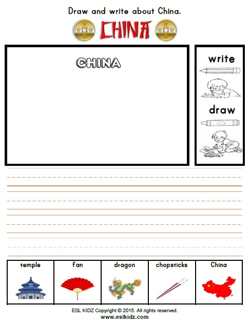 Worksheets For China : China worksheets activities games and for kids
