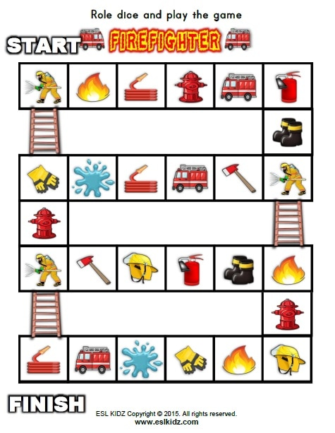 Firefighter Activities Games And Worksheets For Kids