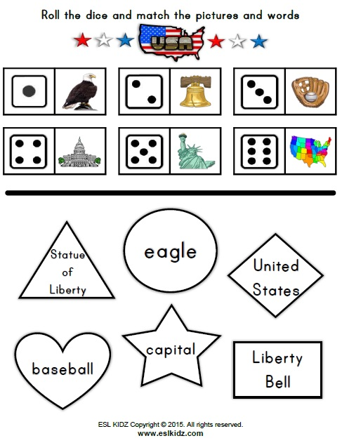 Independence Day Activities Games And Worksheets For Kids